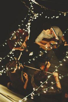 lights/music
