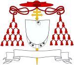 Cardinal Juan Lopez (1455-1501) coat of arms.  Created cardinal by Pope Alexander VI on 02/24/1496.