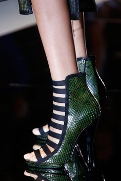 Latest heels for Gucci, Spring 2014. #mfw