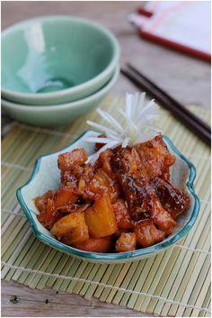 học nấu ăn ngon hôm nay hướng dẫn cách làm món cá lóc khô kho dứa ngon