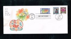 1996 - USA- China Joint First Day Cover for Year of the Rat, 4th of the Lunar New Year Stamp Issued by USPS in San Francisco on 02/08/1996, Stamp and Cover Designed by Clarence Lee of USA, and of China, AnLi Qingfa by DLaw Printing. $12.99. 1996 - USA- China Joint First Day Cover for Year of the Rat, 4th of the Lunar New Year Stamp Issued by USPS in San Francisco on 02/08/1996, Stamp and Cover Designed by Clarence Lee of USA, and of China, AnLi Qingfa