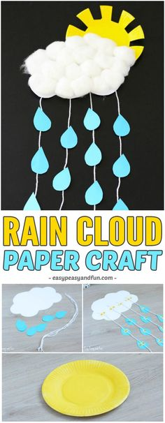 April crafts for kids 79990 - One Spring Crafts For Kids, Paper Crafts For Kids, Crafts For Kids To Make, Craft Activities For Kids, Summer Crafts, Preschool Crafts, Art For Kids, Spring Craft Preschool, Spring Activities