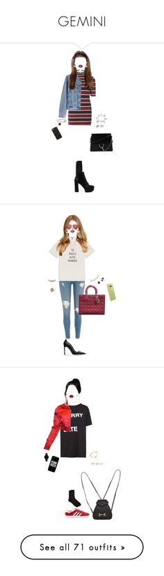 """""""GEMINI"""" by xxeucliffexx ❤ liked on Polyvore featuring gemini, Dorothy Perkins, GANT, Casadei, Forever 21, Lime Crime, Effy Jewelry, Cartier, David Yurman and ChloBo"""