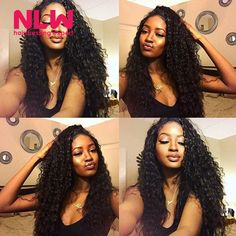 Find More Human Hair Extensions Information about 5 Bundles Deep Wave Peruvian Virgin Curly Hair Deep Wave Human Hair Bundle Wefts 8A Cheap Free Ship Womens Deep Wavy Weave,High Quality deep wavy weave,China wavy weave Suppliers, Cheap peruvian virgin from NLWHair Store