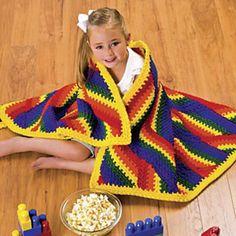 Ravelry: Carnival Colors Throw pattern by Julene Watson