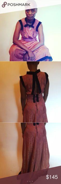 40s gown Gorgeous 1940s gown Vintage Dresses Maxi