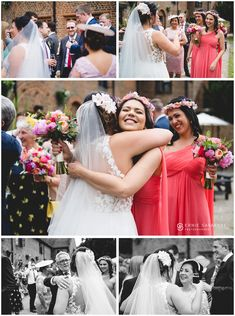 I love photographing weddings at the Tudor Barn. I specialise in natural and documentary style photography. Fashion Photography, Wedding Photography, August 20, Hunts, London Wedding, Tudor, Pink Dress, One Shoulder Wedding Dress, Reception