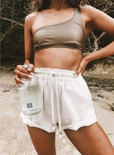 Shop Princess Polly online for the hottest Shorts & Skorts styles trending right now! Buy now, pay later with Afterpay. Kids Fashion Boy, Girl Fashion, Womens Fashion, Beach Style Fashion, Miami Fashion, Pullover Rock, Outfits Tipps, Surfer Girl Style, Surfer Girl Outfits