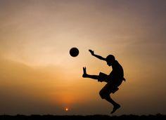 Football by Kuntal Blaise D Costa http://www.earthshots.org