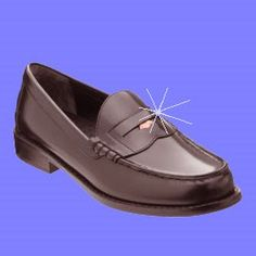 I remember how excited I was when I got penny loafers.  One Potato...Ten!: a penny for your thoughts