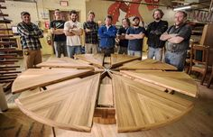Our Biggest Expanding Round Table Has Just Been Completed. Made Out Of  Selected Quarter Sawn Teak, This Expanding Round Table Is As Impressive As  It Is Big.