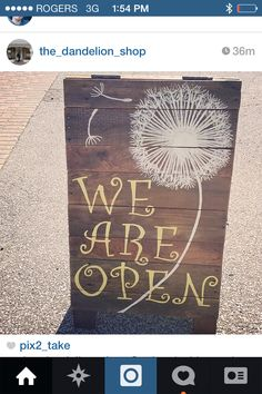 Custom made rustic business signs-chalkboard on reverse. Uniquelychiccreations@gmail.com. Website: Facebook.com/uniquelychiccreations