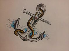 anchor would make a sick tattoo
