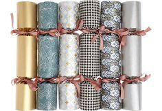 Add a bang to festivities this year with ten of the best Christmas crackers. From woodland animals to reusable designs, we've got crackers covered. Harrods Christmas, Christmas 2017, Christmas Holidays, Christmas Decorations, Table Decorations, Christmas Cards, Christmas Ornaments, Best Christmas Crackers, Beeswax Candles