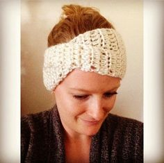 I just love the criss-cross look of this headband! It frames your face nicely and matches any outfit!   -Makes an adult headband measurin...