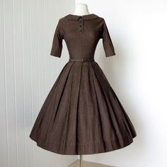 Vintage 1950's dress by Lanz of Salzburg.