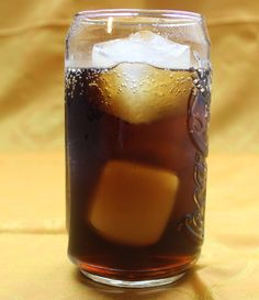 A recipe for the Carmel Coke, featuring butterscotch schnapps and Coca-Cola, a delicious sweet drink.