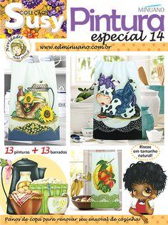 Artesanato - Pintura : COL SUSY PINTURA ESPECIAL 014 - Editora Minuano