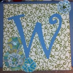 fabric covered letters for nursery - painted wooden letter fabric backing black matte frame