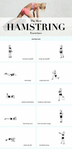 The Best Hamstring Exercises #exercises #workout #fitness #hamstringExercises