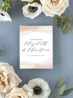 Paint Overlay Wedding Save the Date Cards Luxury Wedding Invitations, Elegant Invitations, Wedding Stationary, Wedding Pins, Wedding Vendors, Wedding Ideas, Save The Date Magnets, Save The Date Cards, Postcard Postage