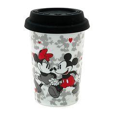Mickey and Minnie Mouse Portable Valentine's Mug