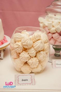 I like the idea of macaroons in a glass jar...like a lolly buffet