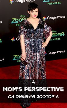 A Mom's Perspective on Disney's Zootopia | Interview With Ginnifer Goodwin