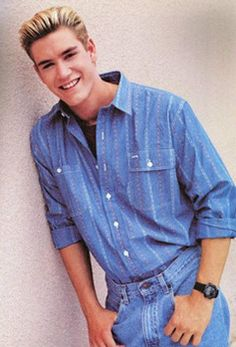 Zack Morris.... :) don't act like he wasn't your fave too!!