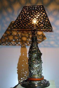EMPERADOR LAMP1 537x800 ARTSPAWN recyled metal art in metals art  with Sculpture Metal Art