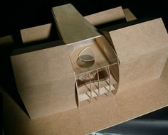 Architectural model; student project; grand atelier Modelbau; studenten projekte; Mode raum..