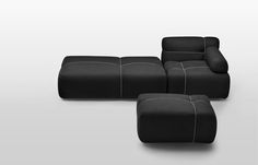 Collection of seating furniture / PACKAGE COLLECTION / design Lenka Damová & Boris Klimek / www.mminterier.cz Sofa Furniture, Furniture Design, Sofa Bed, Couch, Airport Lounge, Furniture Packages, Modular Sofa, Cover Design, Upholstery