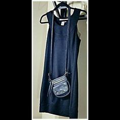 MAX STUDIO A-LINE BLACK DRESS Cleopatra Neck line. Rayon, Poloyester, Spandex. MACHINE WASHABLE. Max Studio Dresses Midi