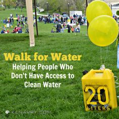 Walk for Water 2014: Helping People Access Clean Water - Kenarry.com