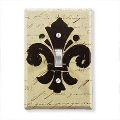 Fleur-De-Lis Switch Plate Cover