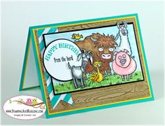 Stampin Up From the Herd card by Sandi @ www.stampingwithsandi.com