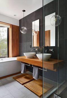 ADS STUDIO. Banheiro social #bathroom #banheiro #lavabo #homedesign