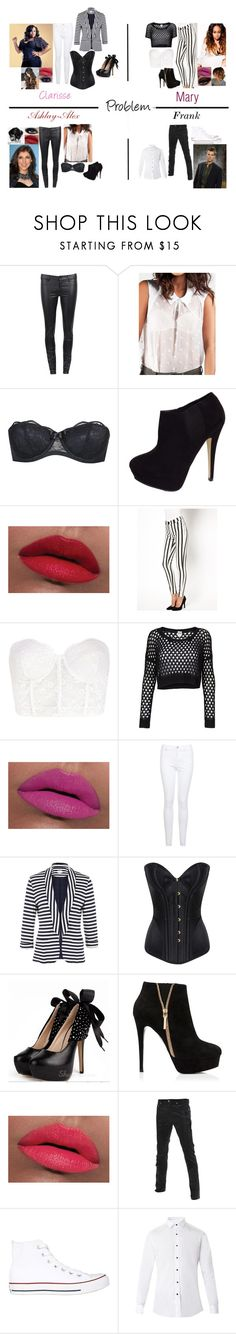 """""""Arts School:Problem by Ariana Grande"""" by glee2shake ❤ liked on Polyvore featuring J Brand, Agent Provocateur, CO, LORAC, Just Female, Forever 21, Vero Moda, MAK, Miss Selfridge and Poem"""