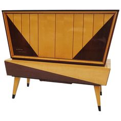 Kuba Tango Motorized Audio Entertainment Console ca.1961 | From a unique collection of antique and modern cabinets at http://www.1stdibs.com/furniture/storage-case-pieces/cabinets/