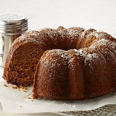Make this moist gingerbread Bundt cake for holiday tea, dessert or snack time.