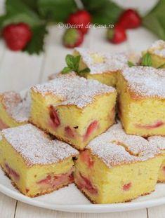 Desert de Casa va prezinta o varietate de retete culinare pentru deserturi si dulciuri de casa pe care le puteti gati usor si rapid. Romanian Desserts, Romanian Food, No Cook Desserts, Just Desserts, Cookie Recipes, Dessert Recipes, Good Food, Yummy Food, Delicious Deserts