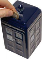 Doctor Who - Ceramic TARDIS Moneybox - £14.99 : Forbidden Planet International, Your Online Entertainment Superstore for Star Wars, Doctor Who, Star Trek and more