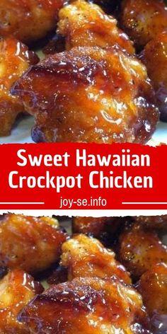 crockpot hawaiian chicken recipe sweet Sweet Hawaiian Crockpot Chicken RecipeYou can find Crockpot recipes - Oppo system Crockpot Dishes, Crock Pot Cooking, Casserole Recipes Crockpot, Taco Casserole, Slow Cooker Recipes, Cooking Recipes, Healthy Recipes, Good Recipes, Cooking Hacks