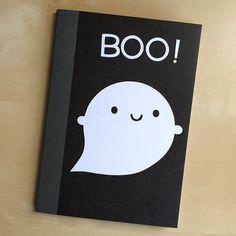SAMPLE SALE - Little Ghost Papercut Notebook