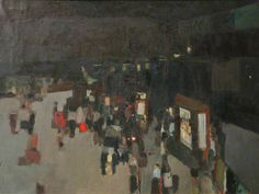 Roy Abell - Railway Station 1957