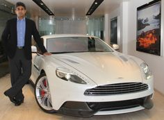 Performance Cars is Aston Martin's dealer based in Mumbai, India. It is from here that the company unveiled their luxury sports car called Vanquish. This new luxury sports car is priced at Rs.3.85 crores and is the fifth model to be offered in India and will compete with the likes of Lamborghini Aventador and Ferrari FF.