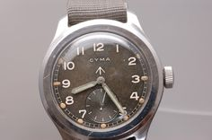 British Military Cyma watch.,. Produced in the 1940's.