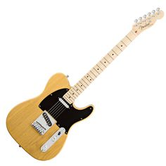 Fender American Deluxe Ash Telecaster - Butterscotch Blonde with Case