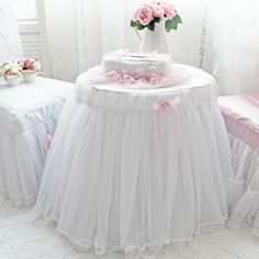 Dreamy Lace Tablecloth
