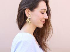 XXL-Ohrringe von Zara.
